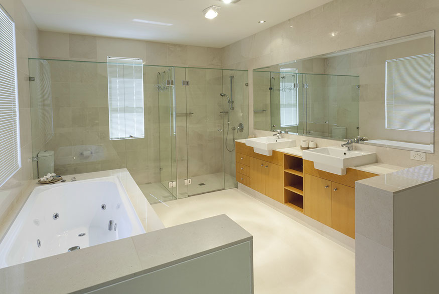Bath clean contemporary bath