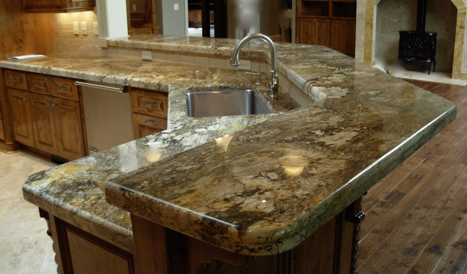 kitchen giallo persia granite