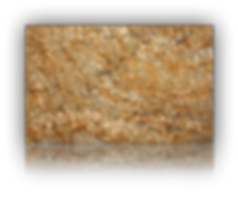 Countertop manufactured with Golden Granite