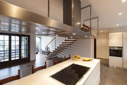loft Kitchen view