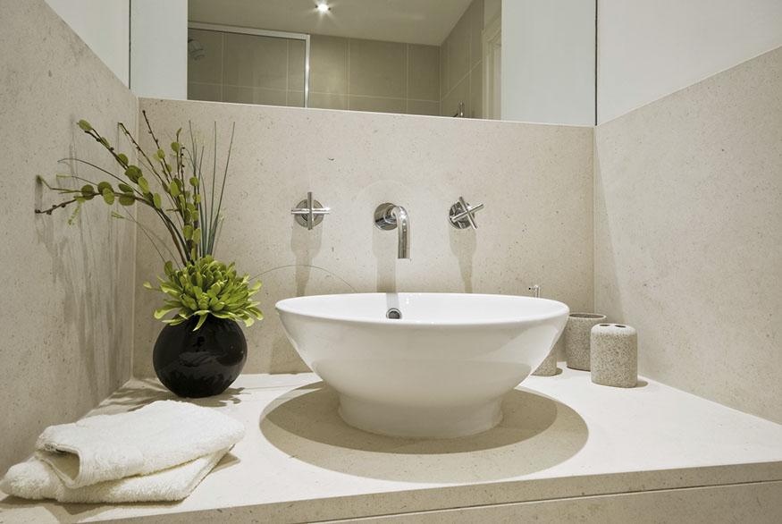 Bath marble vanity