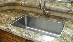 kitchen nice big single bowl sink