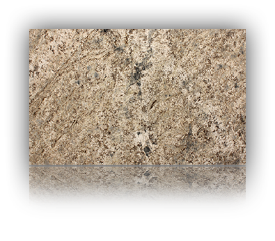 Countertop manufactured with Blue Tempest Granite