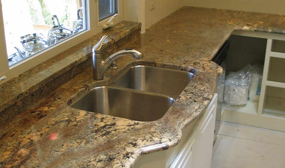 kitchen creme borduex granite