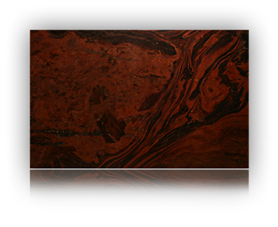 Countertop manufactured with Red Quartzite