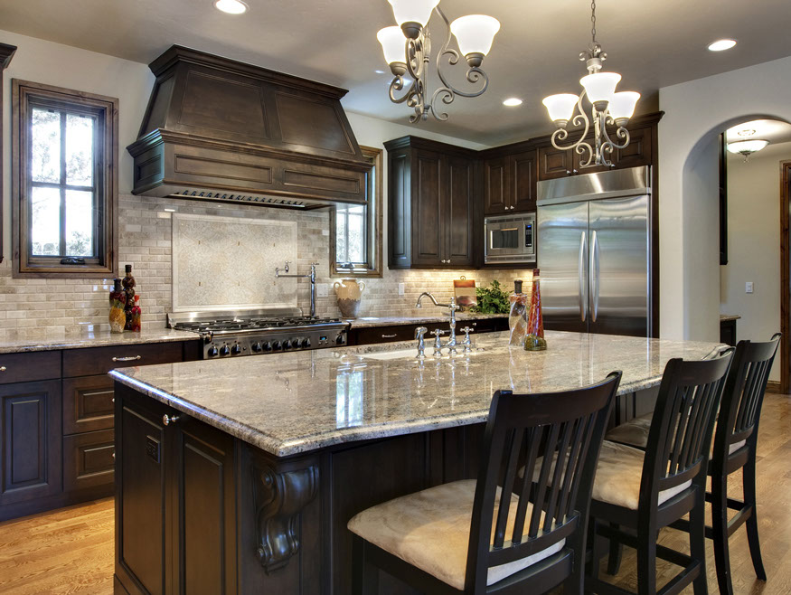stone source granite kitchen