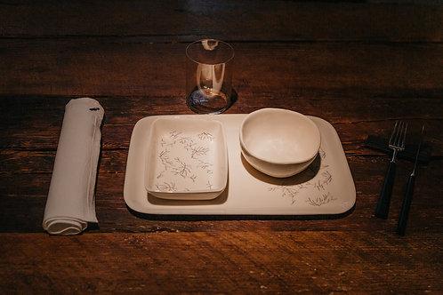 Set de cerámica para Bonjour