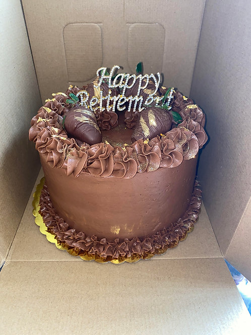 Chocolate Cake with Choclate Icing