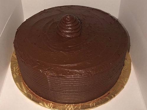 Chocolate Cake with Choclate Icing