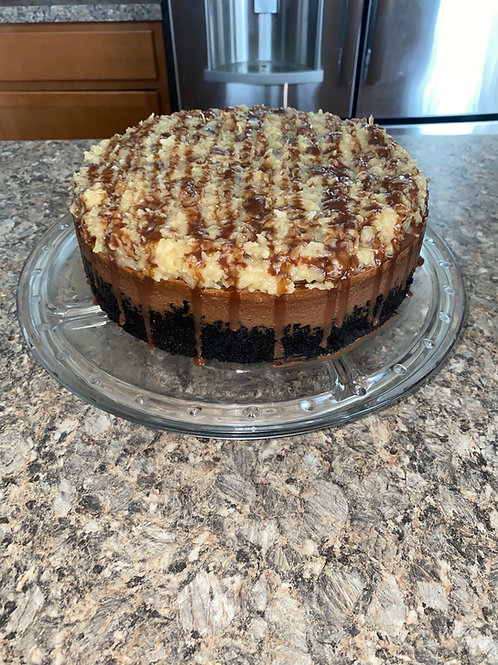 German Chocolate Cheese Cake
