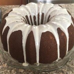 Million Dollar Pound Cake with Amaretto Glaze