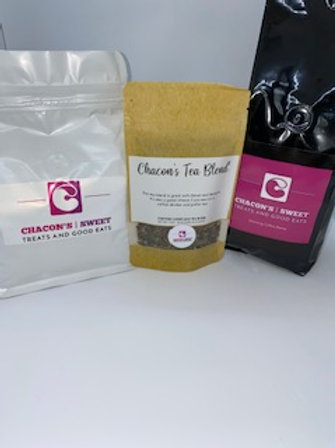 Chacons Morning Coffee  Blend & Chacons Tea blend Bundle