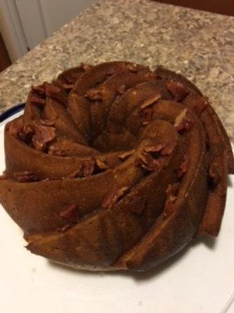 Bacon Rum Cake