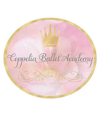 Coppelia Ballet Logo Solid White 8x10 Ba