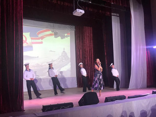 Концерт в военном городке Горки