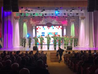 Выступление балетной группы Ансамбля в г.Калуга