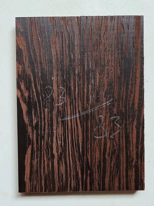 Book matched Wenge scales ref 83