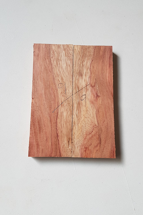Rosewood (Bubinga) scales (not book matched) ref 9