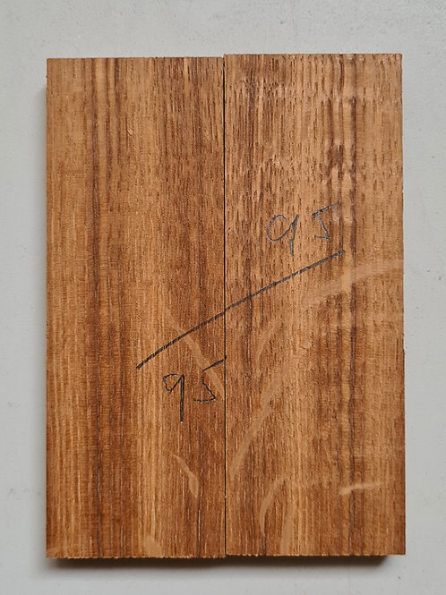 Book matched Tiger Oak scales ref 95