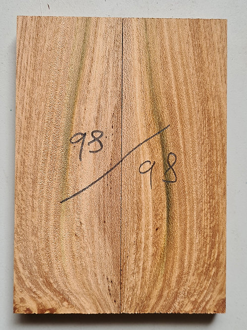 Book matched Elm scales ref 98