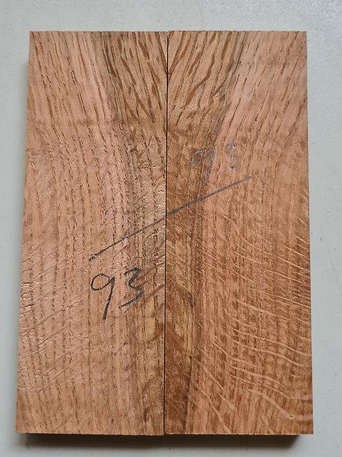 Book matched Oak scales ref 93