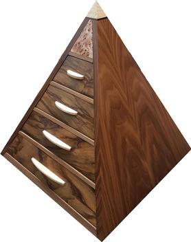 pyramid set of drawers