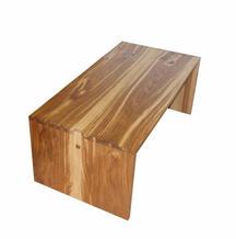 brown oak coffee table