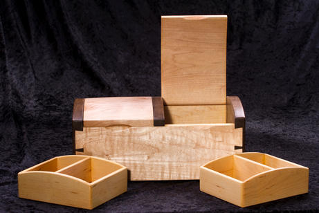 twin lid chest