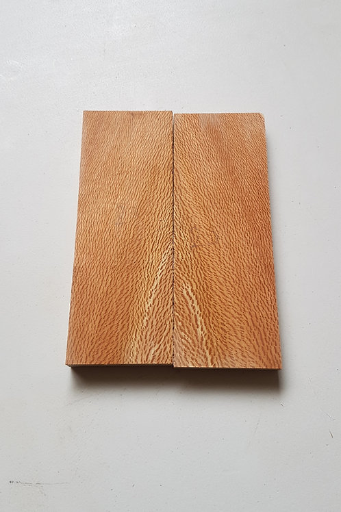 Book matched Lacewood scales ref 20