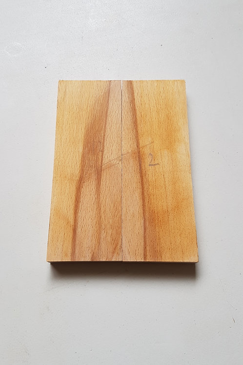 Book matched Spalted Beech scales ref 12