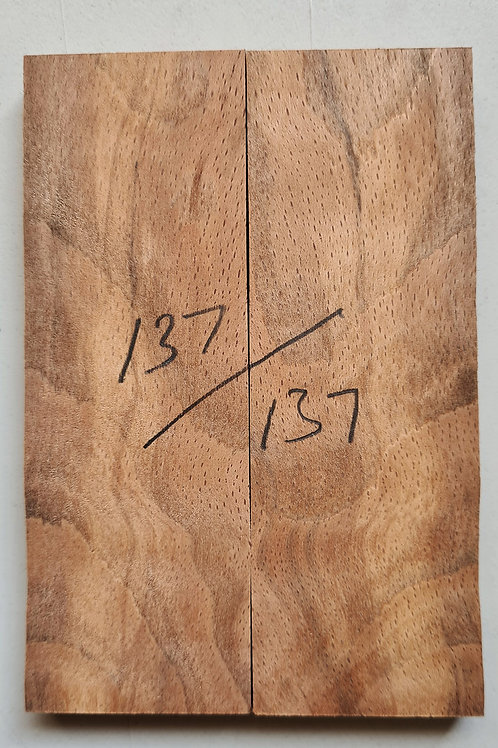 Book matched spalted Beech scales ref 137