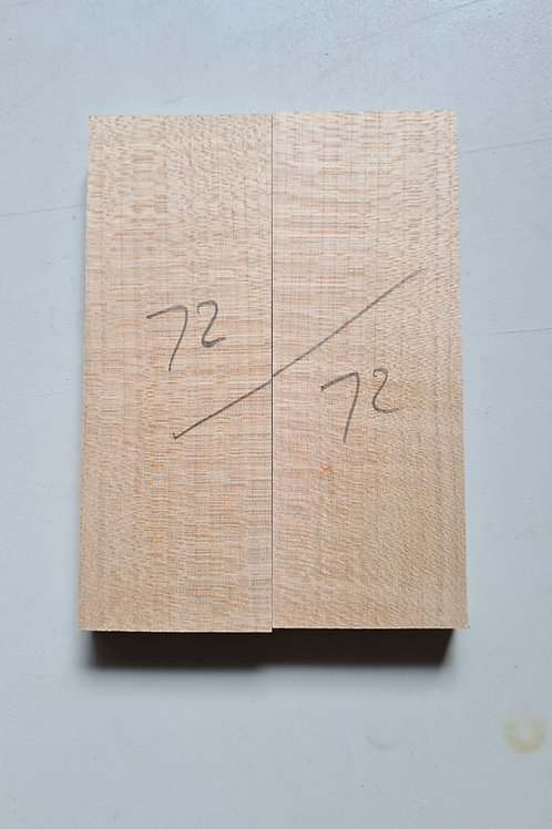 Book matched rippled Sycamore ref 72