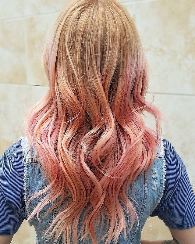 Coral Rose ombre