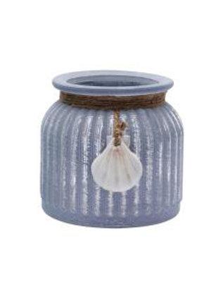 Polzeath Inspired Glass Jar - Purple