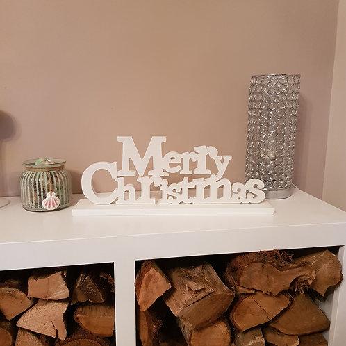 'Merry Christmas' sign