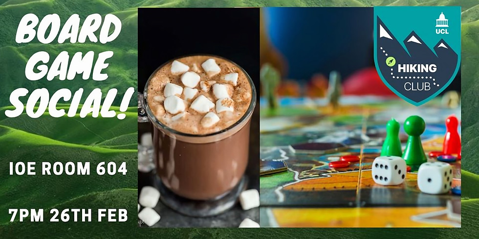 Board Game Social (with hot chocolate!)