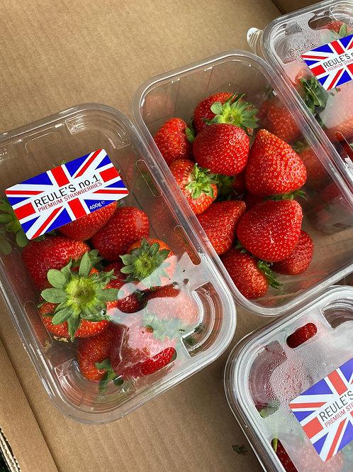 Strawberries 400g x2 pack