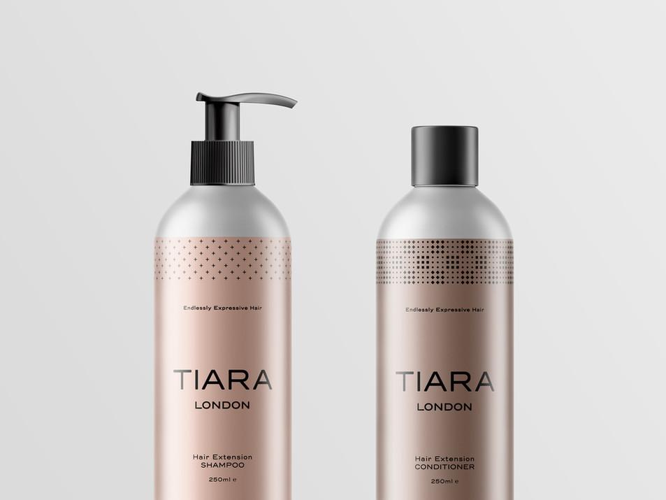 Tiara London Branding