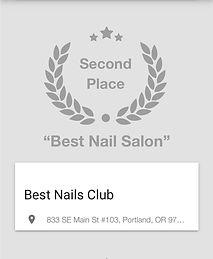 Willamette Week Best Nail Salon