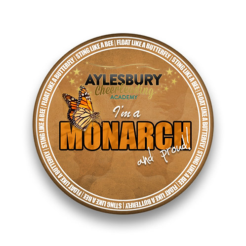 I'm a Monarch and Proud Pin Badge