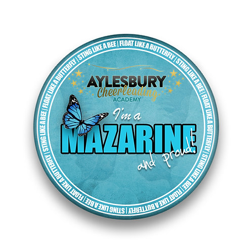 I'm a Mazarine and Proud©️ Pin Badge