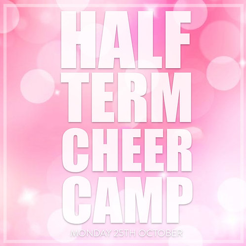 Half Term Cheer Camp (School Years 2-6)