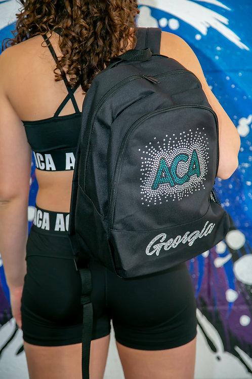 ACA Rhinestone and Glitter Back Pack