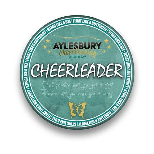 Cheerleader Pin Badge