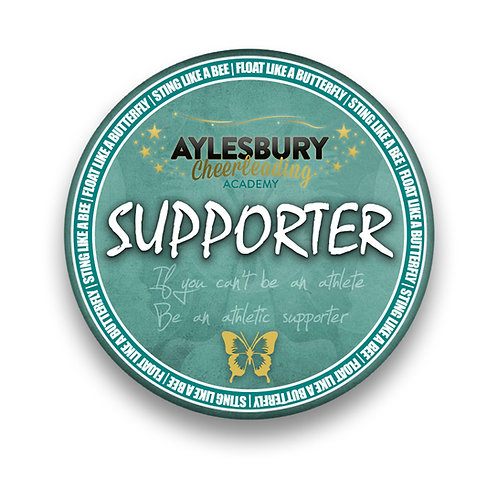 Supporter Pin Badge