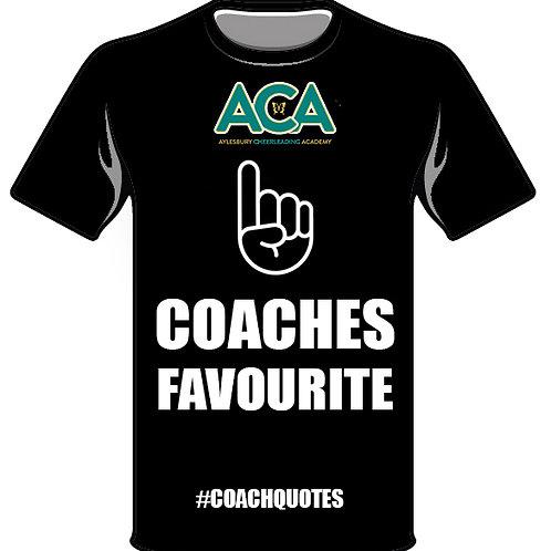 Coaches Favourite - #COACHQUOTE T-Shirt