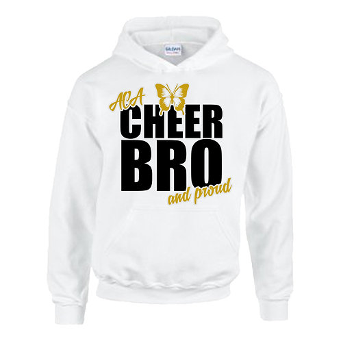 """Cheer Bro and Proud"" Hoodie"