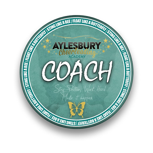 Coach Pin Badge