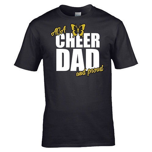 """Cheer Dad and Proud"" T-Shirt"