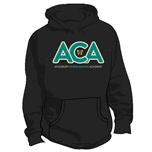 ACA Black Personalised Hoodie